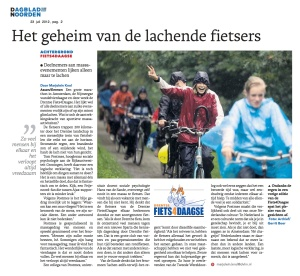Het geheim van de lachende fietsers