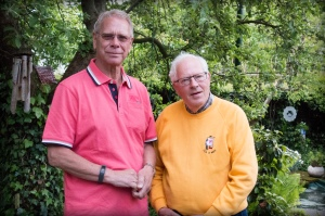 Henk Bloemsma en Reint Hofkamp